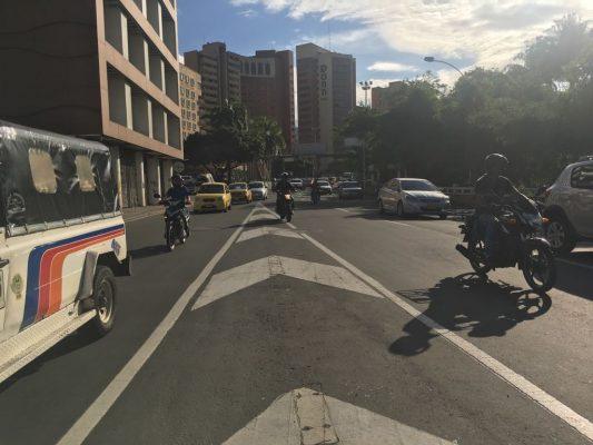 Miles de colombianos se mueven en motocicleta