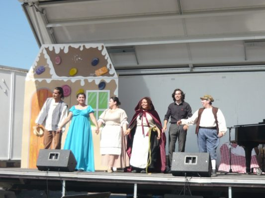 Realizan festival Ópera en la Calle en la Libertad