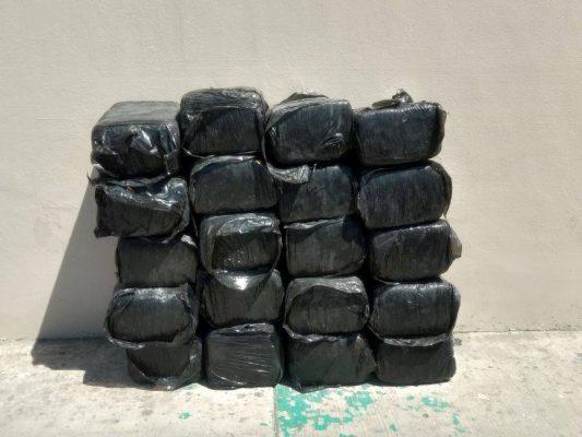 Confiscan marihuana en la Xochimilco