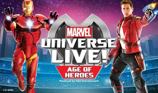 Gana boletos para Marvel Universe Live 🎟