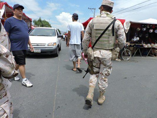 Aumentará presencia del ejército: alcalde
