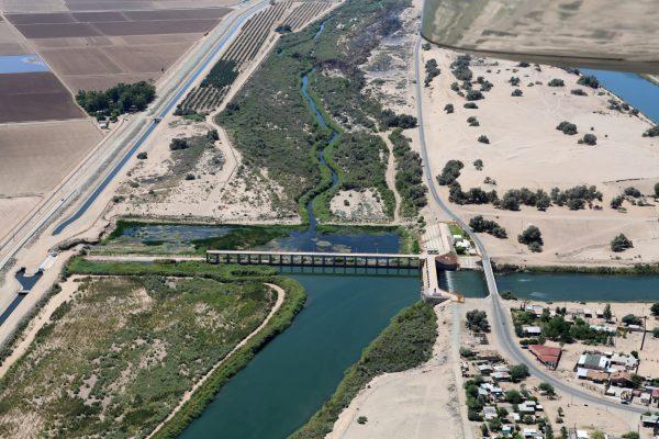 Sin reducción en los metros cúbicos de agua entregados por EU a BC
