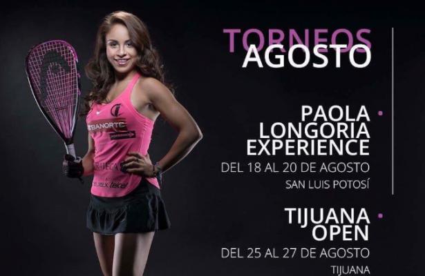Paola Longoria jugará en el Britania