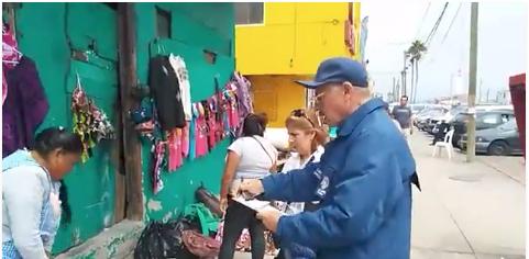 Prohibido ambulantes en andador de Playas de Tijuana, revisan permisos