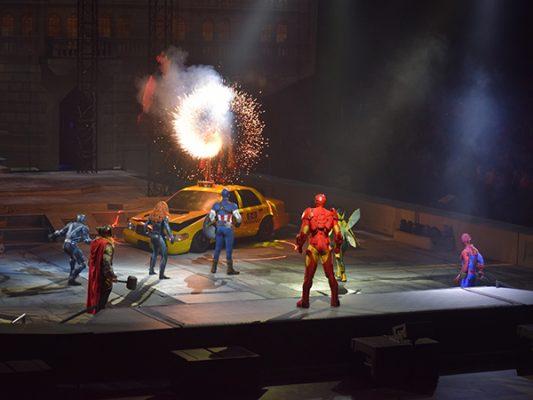 Marvel Universe Live! Age of Heroes, en San Diego