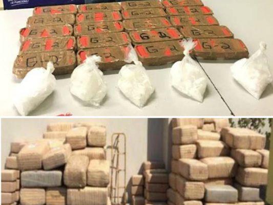 Decomisa PEP más de 56 millones de dosis de drogas en BC