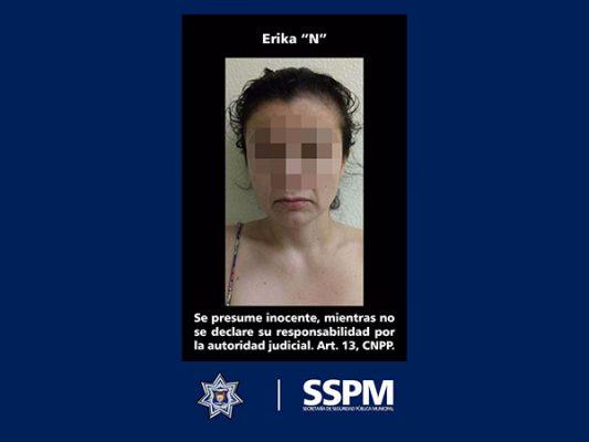 Aseguraron policías municipales a madre de bebé severamente golpeada