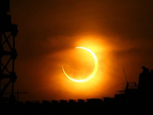 Eclipse solar  será este lunes