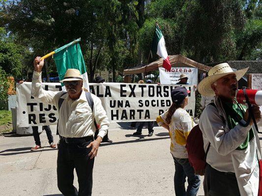 Caravana caminará de Tijuana hacia Mexicali por la impunidad