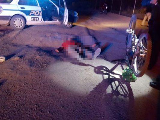 Reportan grave a ciclista impactado por auto fantasma