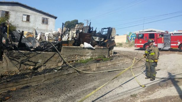 """Picadero"" se incendia en la Libertad parte Media"