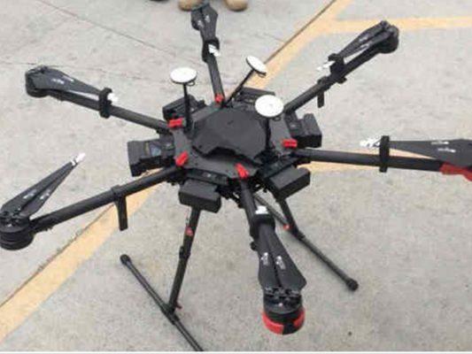 Cruzan droga en dron de Tijuana a San Diego
