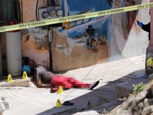 Masacran a joven en Ensenada