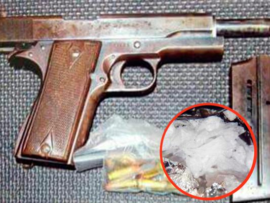 PGR vincula proceso contra hombre detenido con arma de fuego y crystal