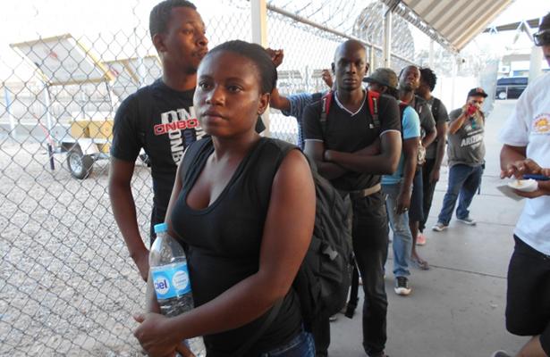 Reporta IMSS registro de 2 mil 107 haitianos