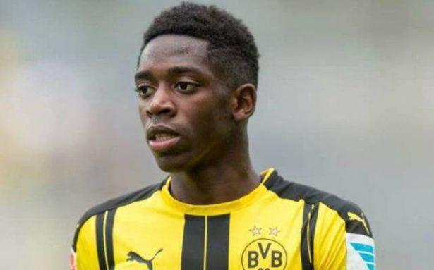 Dembélé sufre grave lesión; estará de baja 4 meses