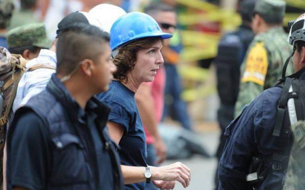 Intensifican búsqueda en Álvaro Obregón; Jacobson supervisa ayuda humanitaria