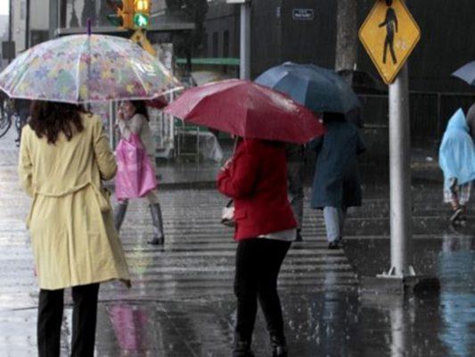 Fuerte tormenta,  lluvia de 25 a 50 litros hoy