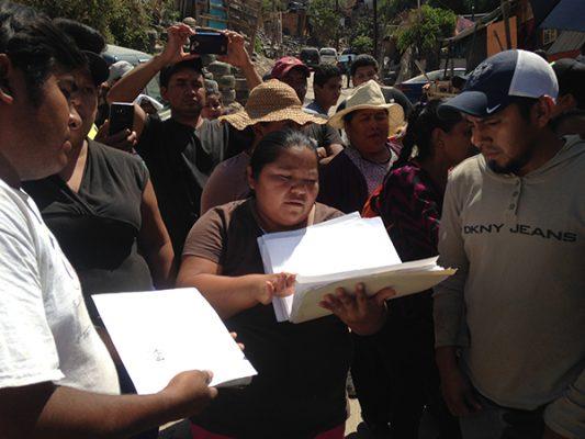 Delegado dejaría sin hogar a 50 familias