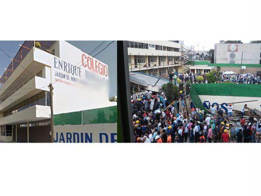 ¡Video completo! Momentos del  derrumbe en colegio Enrique Rébsamen