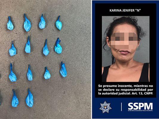 Policía municipal ha asegurado a 196 mujeres por posesión de droga