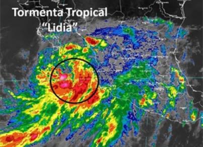 A su paso por Baja California Sur, Lidia deja 4 muertos
