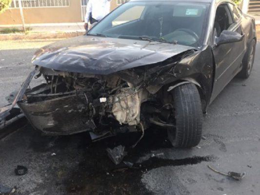 Conductor alcoholizado causa choque; hay lesionados