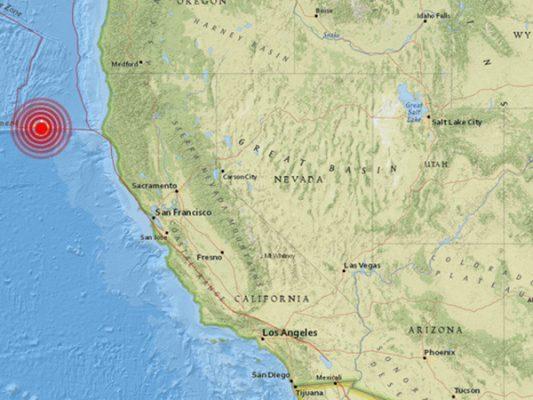 Sismo sacude el norte de California
