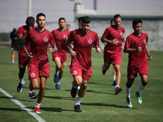 Xolos inició semana de cara al juego contra Veracruz