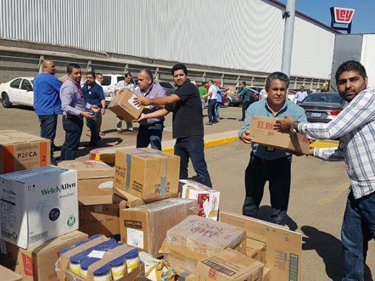 [Video] IMSS envía 22 toneladas de víveres a damnificados por sismos