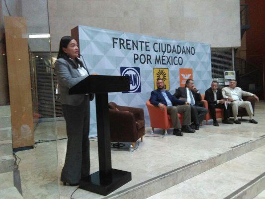 Frente Ciudadano, va por combate de corrupción, impunidad y pobreza