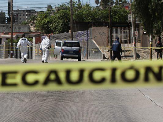 Tijuana, con cerca de las 1,400 muertes