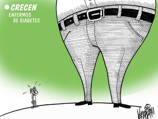 Crecen enfermos de diabetes