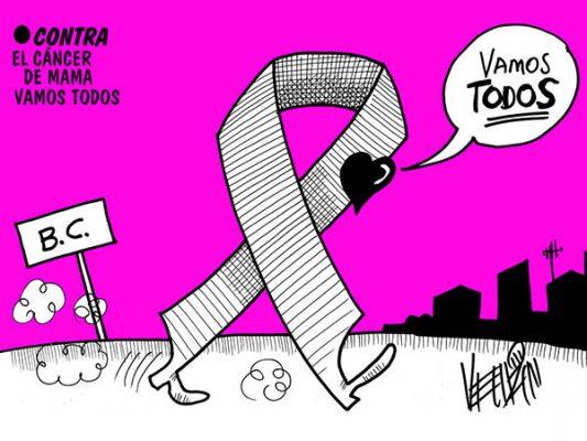 Contra el cáncer de mama vamos todos