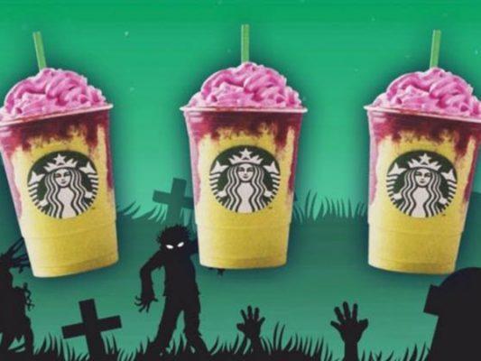 Zombie Frapuccino: La nueva bebida de temporada de Starbucks💀