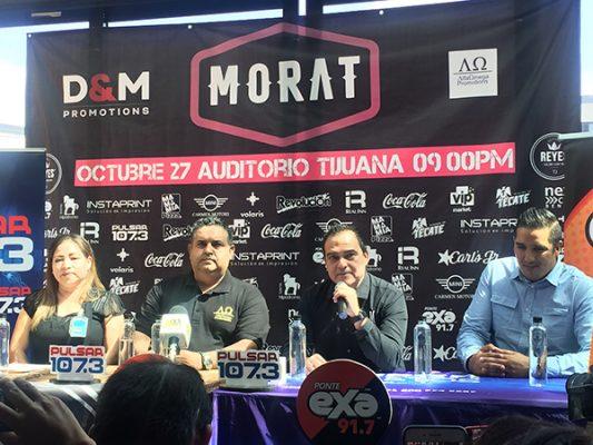 Morat anuncia concierto en Tijuana
