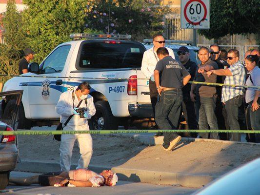 Asesinan a hombre de un balazo en la cara