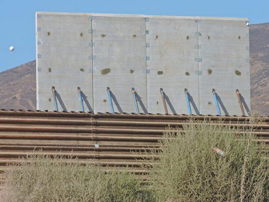 Ningún muro  es impenetrable por imponente que sea