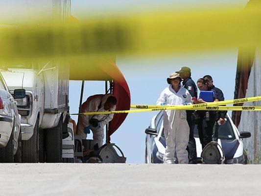 1,365 homicidios;  el doble que en 2016