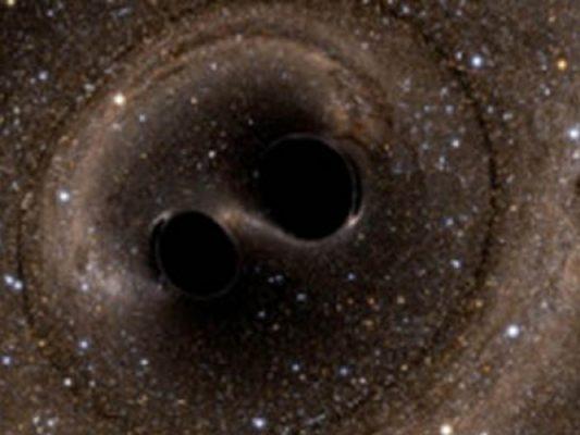 Astrónomos hallan cinco parejas de agujeros negros gigantes