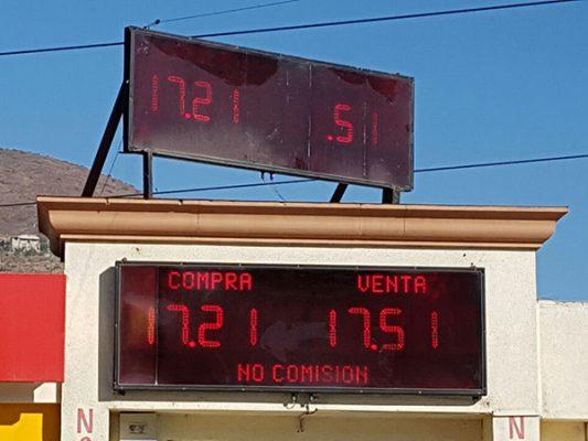 Dólar en Tijuana: Tipo de cambio