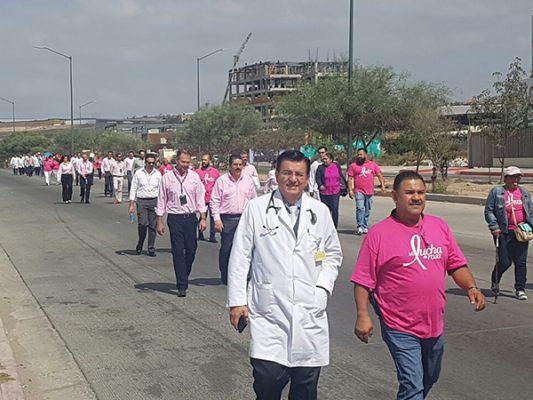 IMSS da inicio a campaña contra el cáncer de mama 🌸