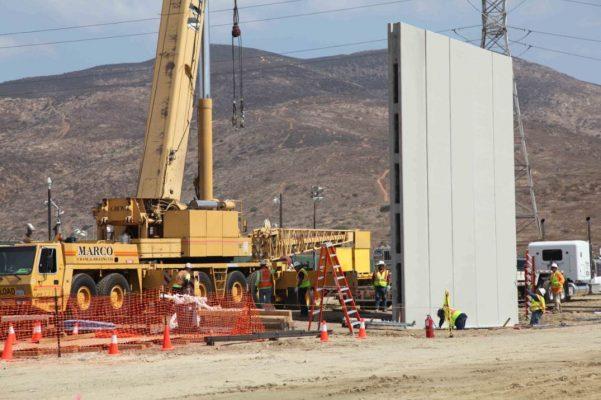Prototipos de muro en SD superan pruebas militares