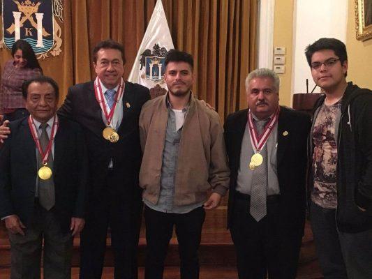 Cronistas deportivos reconocen a Alejandro Neciosup