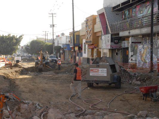Calle Sexta seguirá cerrada por un mes