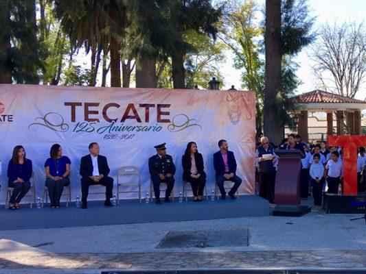 Celebran 125 aniversario de la fundación de Tecate
