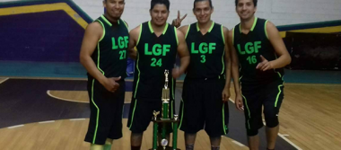 Burritos le gana a Amcom en basquetbol
