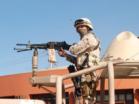 El ejército apoyará si lo solicita gobernador