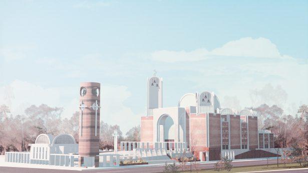Arzobispo presentó anteproyecto de nueva Catedral de Tijuana