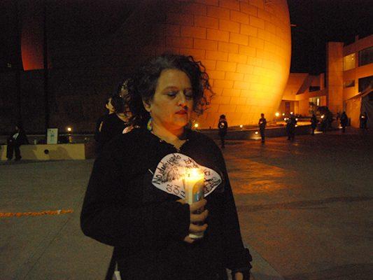 Protestan mujeres contra altos índices de feminicidios